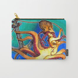 Octopus Lady Carry-All Pouch