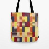 bauhaus Tote Bags featuring Bauhaus by ohkj