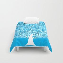 Blue Tree Comforters