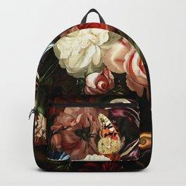 """Ernst Stuven """"Still life of flowers"""" Backpack"""