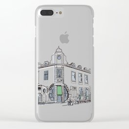 street of the old town / art Clear iPhone Case