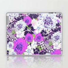 Croc Floral Goes Purple Laptop & iPad Skin