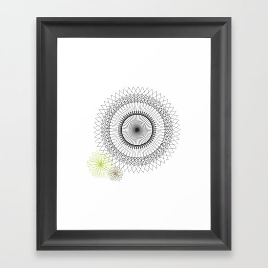 Modern Spiro Art #2 Framed Art Print