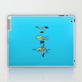 Green Sword Fish Laptop & iPad Skin