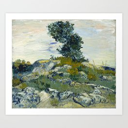 Vincent van Gogh - The Rocks (1888) Art Print