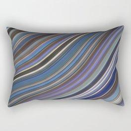 Wild Wavy Lines 40 Rectangular Pillow