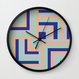 Four Squared Wall Clock