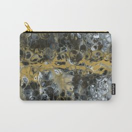 Black and Gold Horizon Carry-All Pouch