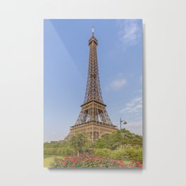 Idyllic Paris view Metal Print