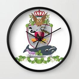Coat of Arms 2 Wall Clock