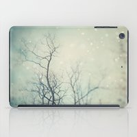 poem iPad Cases featuring Winter Poem  by Laura Ruth
