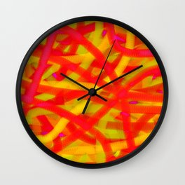 Violence Wall Clock