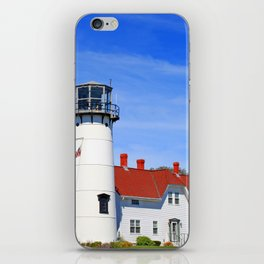 Chatham Lighthouse On Cape Cod iPhone Skin