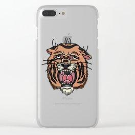 Panthera tigris Clear iPhone Case