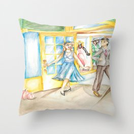 Nifty Cindy Throw Pillow