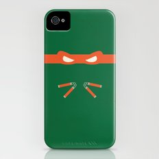 Orange Ninja Turtles Michelangelo Slim Case iPhone (4, 4s)