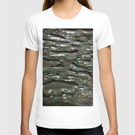 abstract drops in the rain T-shirt