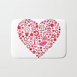 Biotech Heart Bath Mat