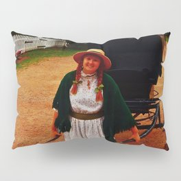 Anne of Green Gables Pulls the Carriage Pillow Sham