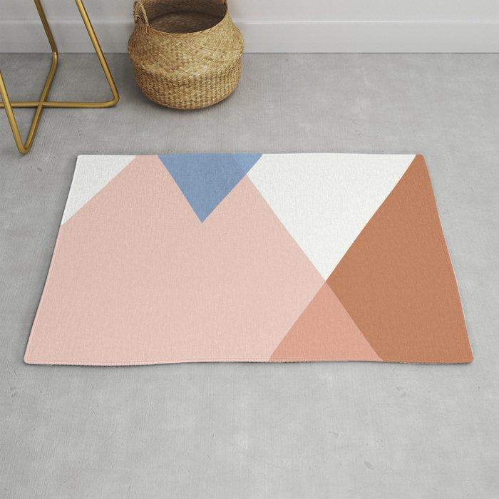 Geometrics - moroccan sky Rug