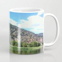 montana Mugs featuring Montana Rock  by OrdinaryAdventures