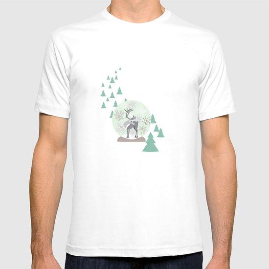 Reindeer Snowglobe T-shirt
