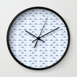 Flying saucer 6 Wall Clock