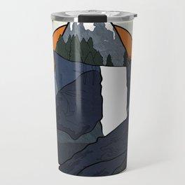 Vernal Falls  Travel Mug