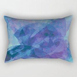 Precipice in Blue XIV Rectangular Pillow