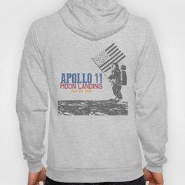 Apollo 11 Moon Landing 1969 Anniversary design Hoody