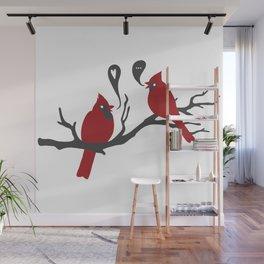 Cardinals Wall Mural