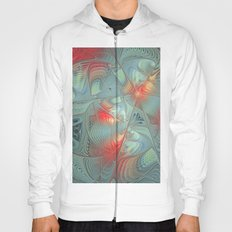 String Theory Fractal Art Hoody