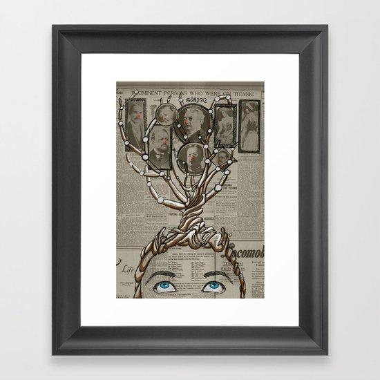 day post Framed Art Print