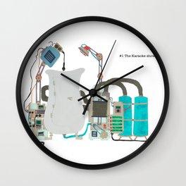 The Karaoke Showertub Wall Clock