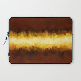 Liquid Gold Sunbeam with Burnished Bronze Laptop Sleeve