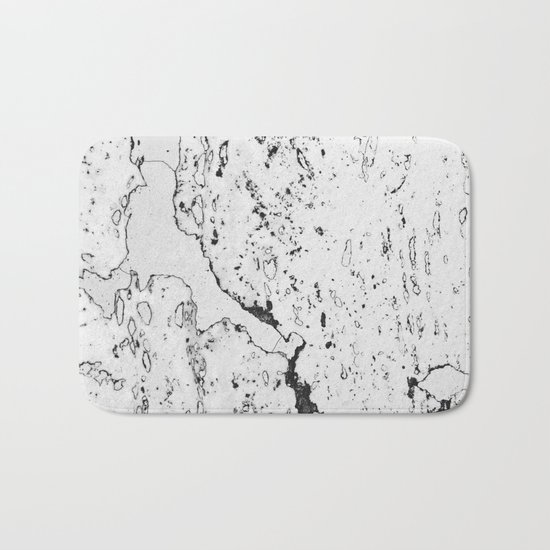 Speckled Marble Bath Mat