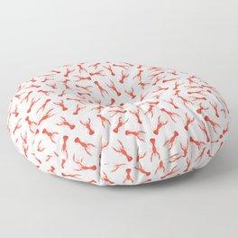 Lobster Pattern Floor Pillow