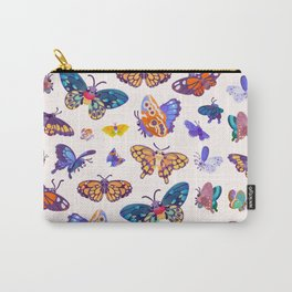 Butterflies Day - bright Carry-All Pouch