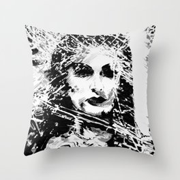 Lily Munster Throw Pillow