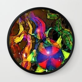 """That Which Seeks"" Wall Clock"