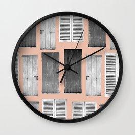 Knok knok Wall Clock