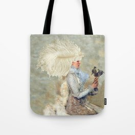 The Feather Affair Tote Bag