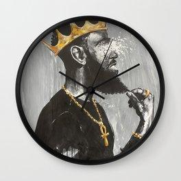 Naturally King VI Wall Clock