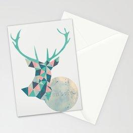 I'd rather be a deer Stationery Cards
