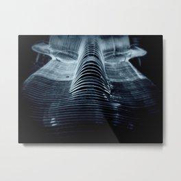 Structured Flow Metal Print