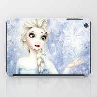 elsa iPad Cases featuring Elsa by Siney