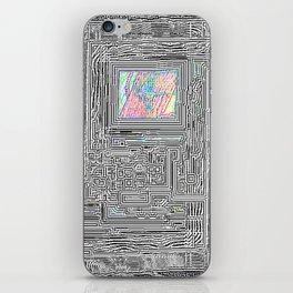 Peaking Through iPhone Skin