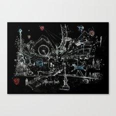 London Southbank Canvas Print