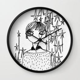 starry Wall Clock