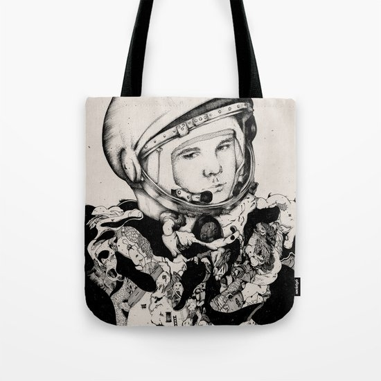 From Gagarin's Point Of View  Tote Bag